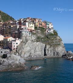 [利古里亚大区游记图片] 【意大利】五渔村二日游,上山下海徒步游船,全方位看悬崖上的彩虹村。
