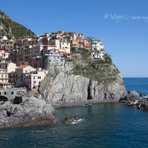 五渔村游记图文-【意大利】五渔村二日游,上山下海徒步游船,全方位看悬崖上的彩虹村。