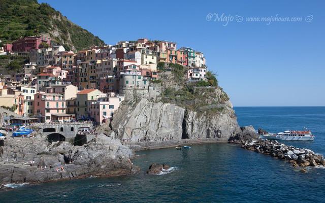 【意大利】五渔村二日游,上山下海徒步游船,全方位看悬崖上的彩虹村。