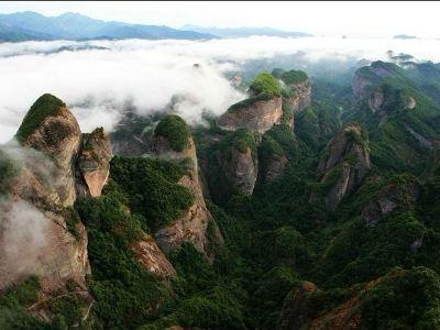 Bajiaozhai Scenic Area