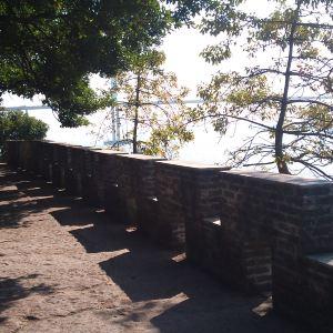崖门胜景旅游景点攻略图