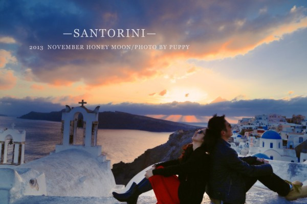 天晴姐全球笑脸计划之-讲个圣托里尼的故事给你听