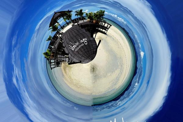 穷游中FB,漂浮在海上的绝美天堂-Kapalai