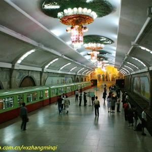 朝鲜游记图文-【朝鲜】走进神秘的平壤地铁