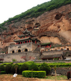 [彬州游记图片] 丝绸古道第一寺 -- 陕西彬县大佛寺
