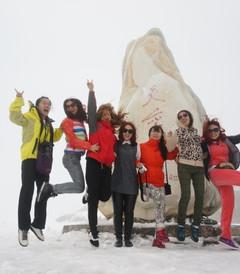 [稻城游记图片] 来自九个地区的十四个伙伴相约去稻城亚丁