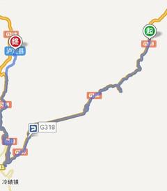 [康定游记图片] 【骑行西藏游记】 - 第3天 苦越二郎山,高原现渡河