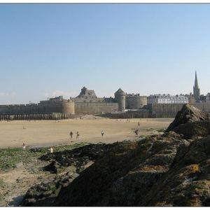 圣马洛城堡旅游景点攻略图