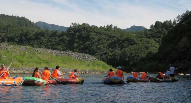【游记】麻川河-蓝水河漂流