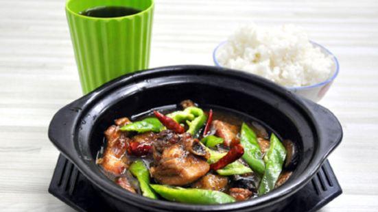 水城黃燜雞米飯
