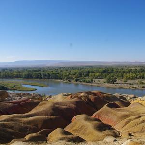 哈巴河游记图文-绝美秋色在北疆-不腐败也不算自虐的11天环线