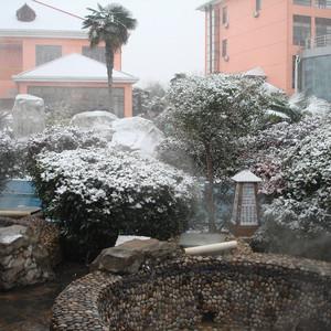 庐江游记图文-安徽巢湖:雪花飘 温泉泡