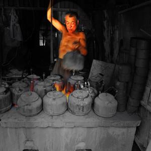 淮北游记图文-茶肆百态——安徽临涣茶楼