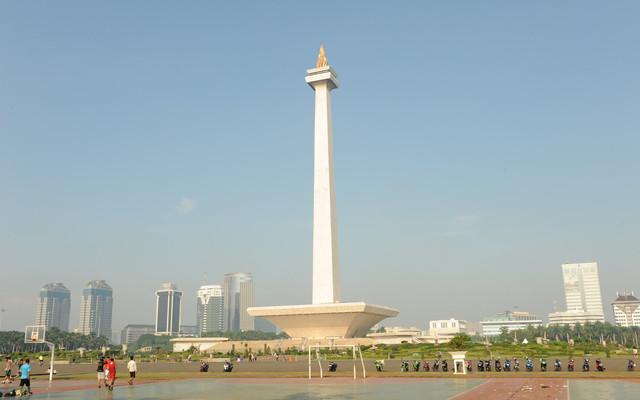 从西向东穿越印尼中南部(二 ;雅加达)
