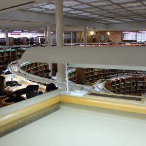 西班牙国家图书馆旅游景点攻略图