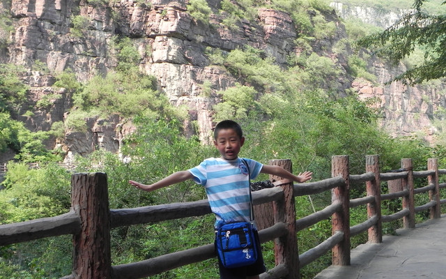 拖老带小郑州、云台山、洛阳、西安游