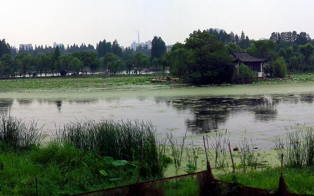 韦金勇: 24小时188元的安徽历程 从皖中巢湖游到皖西菱湖  从安庆独秀园游到安庆迎江寺