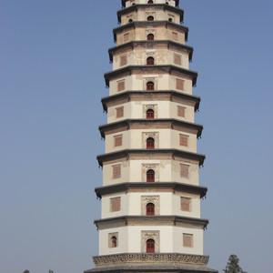 定州游记图文-寻塔之旅十七-河北定州开元寺塔(料敌塔)