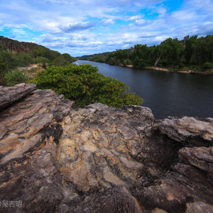 北领地游记图文-【澳大利亚.卡卡杜】穿越千年荒蛮—五万年的岩画与辉煌落日