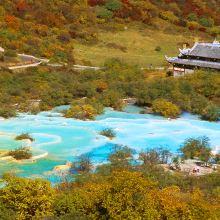 黄龙风景名胜区图片