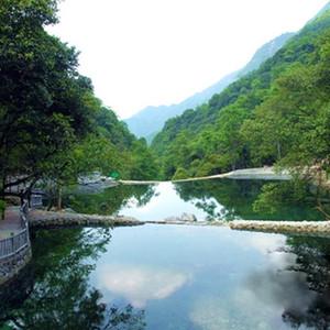 通山游记图文-悠游石龙峡——《走读九宫山》之四