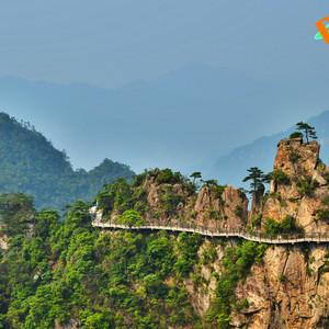 大明山游记图文-杭州向西,跋山涉水度周末。