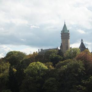 卢森堡游记图文-卢森堡大峡谷