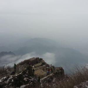 舍身崖旅游景点攻略图