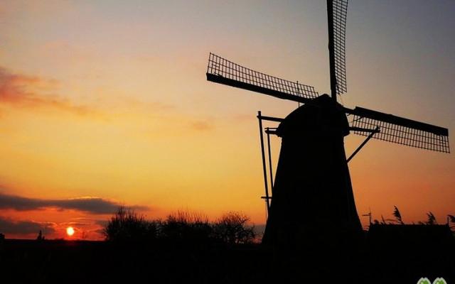 【荷兰】最古老的风车村,邂逅最美晚霞