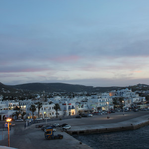 多哈游记图文-心里装着一个自由的希腊-圣岛火山悬崖步道徒步之旅。