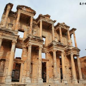 以弗所游记图文-带上老婆去土耳其:以弗所,世界上最大最完整的罗马古城