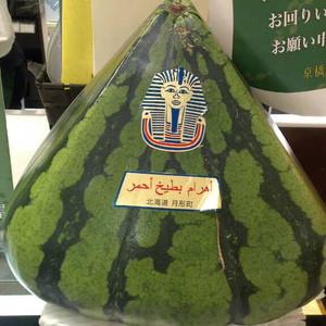 大吉岭游记图文-日本的各式水果,心形西瓜