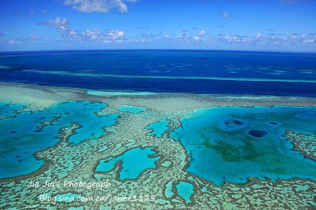 【澳洲】大堡礁,用一眼藍見證永世的愛