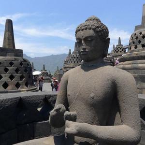 婆罗浮屠游记图文-印尼纪行