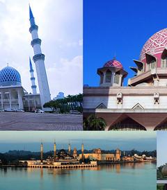 [马来西亚游记图片] 美轮美奂的马来西亚清真寺之旅(超多图)【最强攻略】,你喜欢布城淡淡粉,还是莎阿南魅惑蓝?