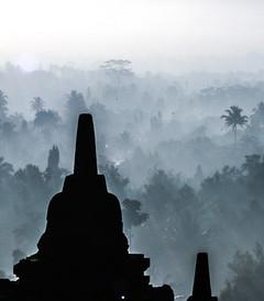 [日惹游记图片] 日惹4天 - 婆罗浮屠、巴兰班南、默拉皮火山