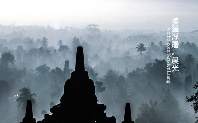 日惹4天 - 婆罗浮屠、巴兰班南、默拉皮火山
