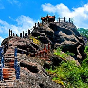 龙岩游记图文-我在龙岩连城冠豸山,寻找美!