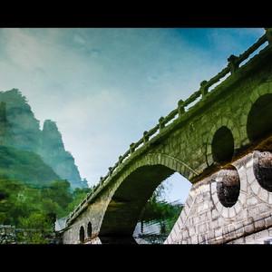 河南游记图文-山水里的传奇世界 —— 逐梦,云台之巅