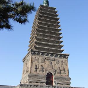 朝阳游记图文-寻塔之旅二十三-朝阳南北双塔