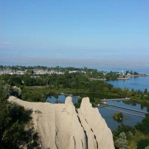 斯卡堡悬崖旅游景点攻略图