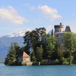 安纳西游记图文-再游欧洲--法国西班牙35天自由行(4)-- 里昂,安纳西,莎莫尼--城湖山