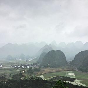 晴隆游记图文-【温文婉约 水墨黔西南】游走在山林
