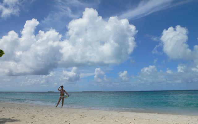 Honeymoon在马尔代夫Kuredu Island