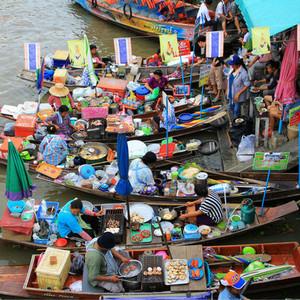 安帕瓦游记图文-曼谷七十二小时。