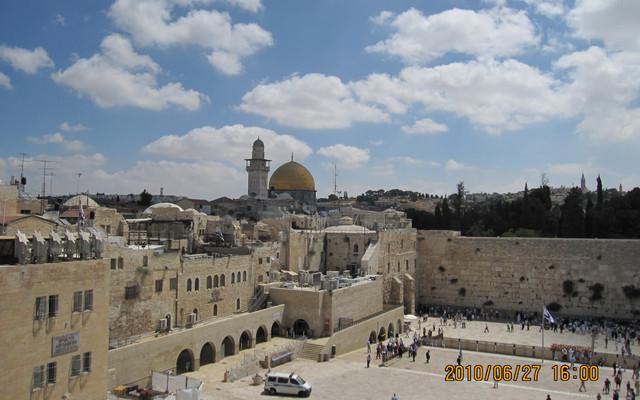 自驾游世界之战争与和平-以色列特拉维夫-耶路撒冷-海法-马萨达-伯利恒游(2010年6月)