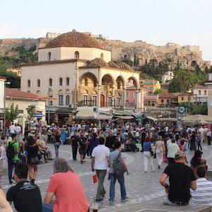 普拉卡老城区旅游景点攻略图