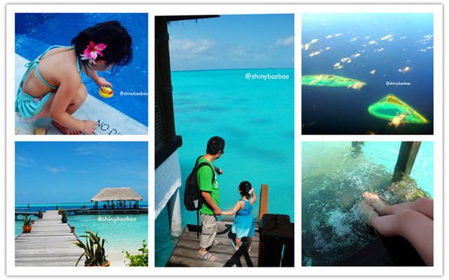 牵着小手去旅行之马尔代夫神仙珊瑚岛家庭亲子之旅
