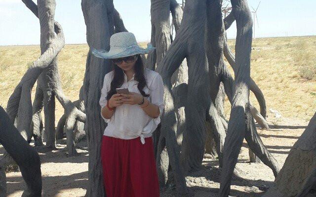 美丽的沙漠、草原、锡林郭勒盟、内蒙、北京、西安二十日自由行(一群女汉子的穷游记)