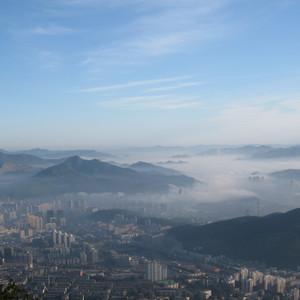 平顶山游记图文-本溪之平顶山の看日出篇